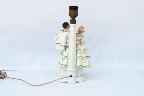Lámpara de  mesa de porcelana Alemana | 5
