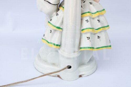Lámpara de  mesa de porcelana Alemana | 3