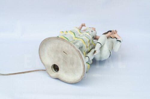 Lámpara de  mesa de porcelana Alemana | 2