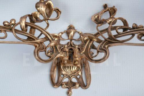 Candelabros de Piano Art Nouveau   5