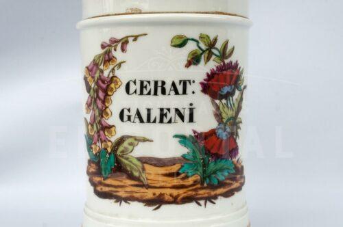 Botámen de botica de Porcelana francesa Mehun | 3