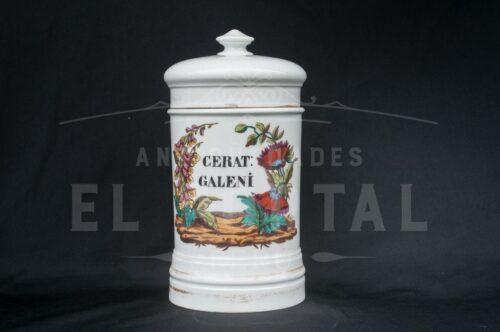 Botámen de botica de Porcelana francesa Mehun | 4