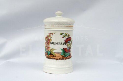 Conservera de farmacia de porcelana francesa Mehun | 1
