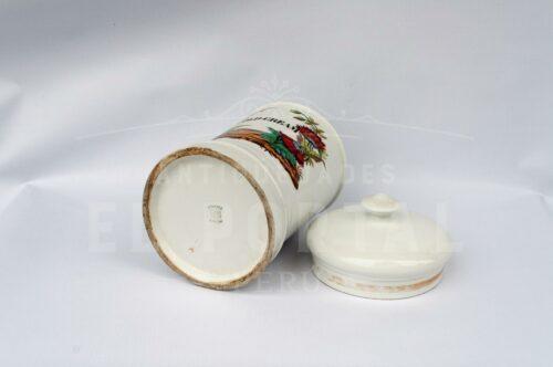 Conservera de farmacia de porcelana francesa Mehun | 3