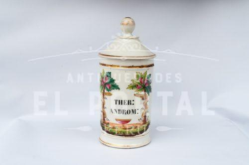 Conservera de Botica de Porcelana H. Vignier | 1