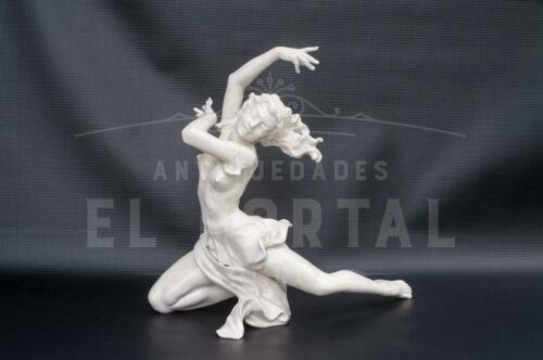 "Bailarina ""El Final"" Porcelana alemana Hutschenreuther | 7"