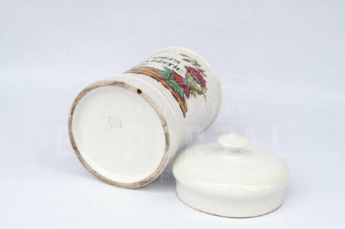 Botámen Conservera de porcelana Francesa Mehun | 3