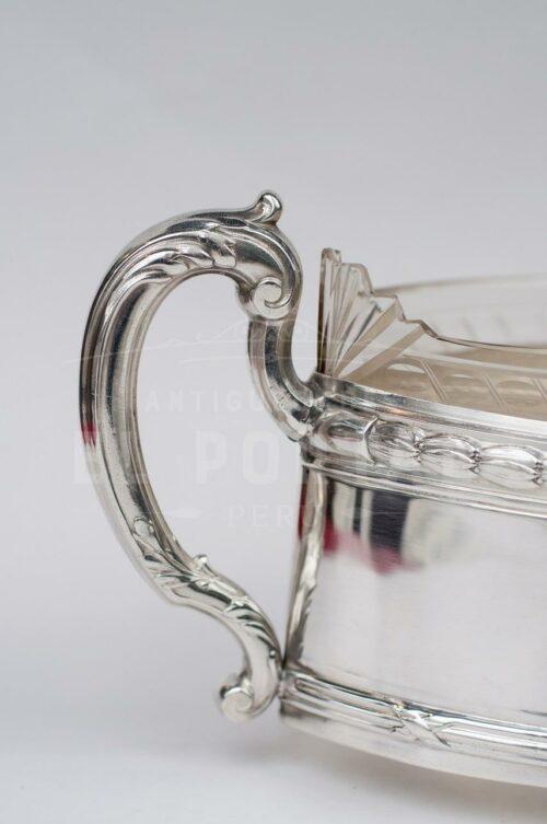Centro de plaqué con cristal | 4