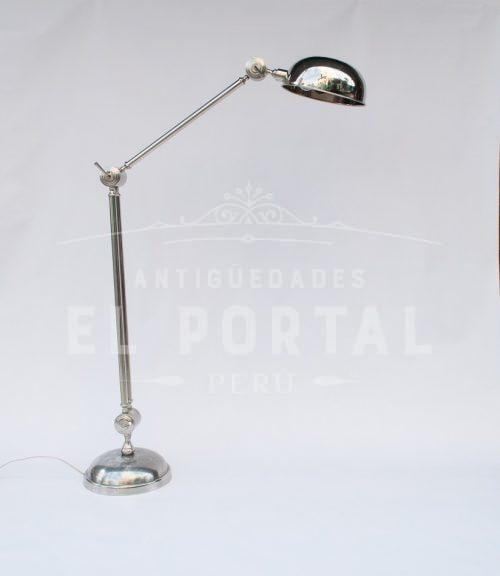 Lámpara cromada italiana | 2