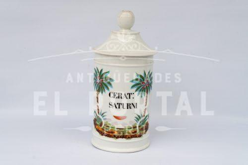 Botámen Conservera de botica de porcelana francesa | 1