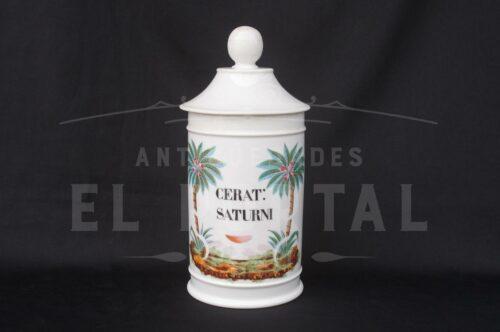 Botámen Conservera de botica de porcelana francesa | 5