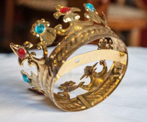 Corona de bronce repujado | 2