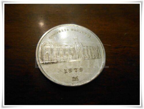 Moneda Conmemorativa Congreso Nacional 1979 | 1