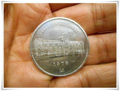 Moneda Conmemorativa Congreso Nacional 1979 | 3