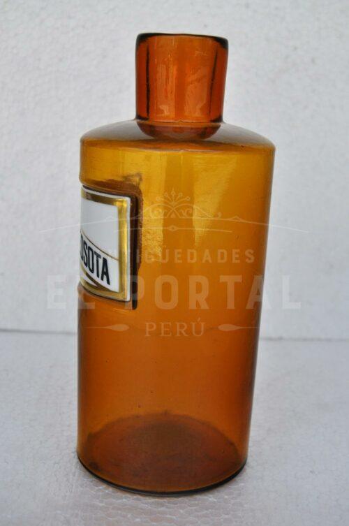 Pomo de farmacia de vidrio   3