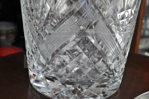 Hielera de cristal con plaqué | 2