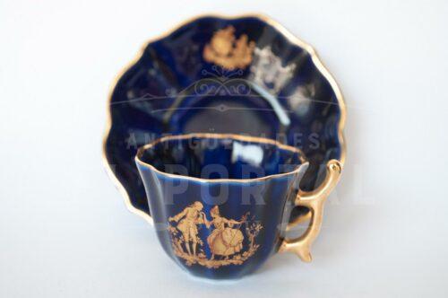 Limoges taza de porcelana | 2