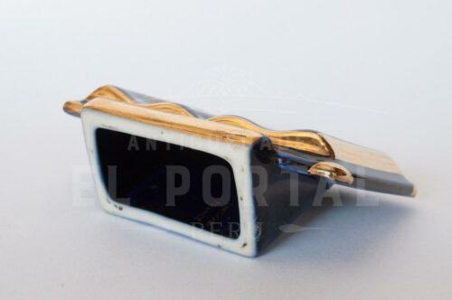 Libro y atril en miniatura de porcelana Limoges | 5