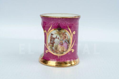 Limoges - Calentador de tetéra en miniatura color rosa | 4