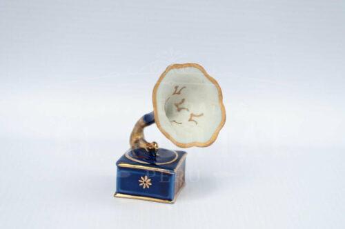 Limoges porcelana Victrola - Miniatura | 1