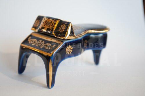 Piano de porcelana Limoges Miniatura | 1