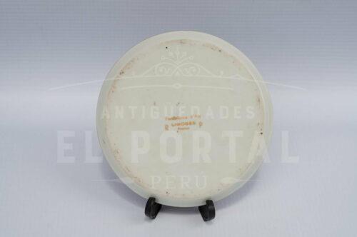Limoges porcelana plato decorativo miniatura | 2