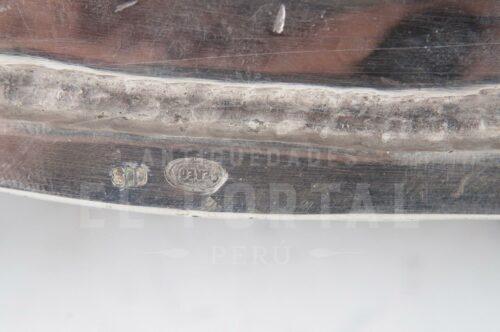 Bandeja de Plata Ley 800 Pereda   2