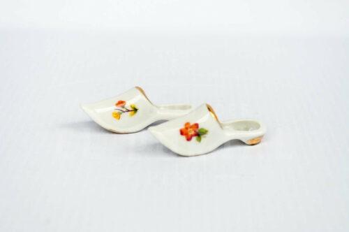 Limoges- pantuflas de porcelana - Miniatura | 2