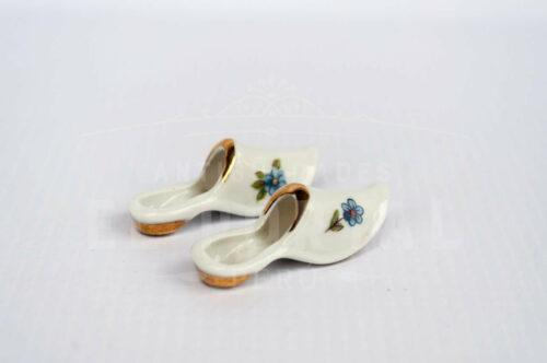 Limoges- pantuflas de porcelana - Miniatura | 3