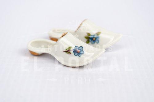 Limoges- pantuflas de porcelana - Miniatura | 1