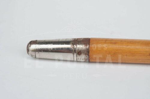 Bastón Art Deco de madera y baquelita | 3