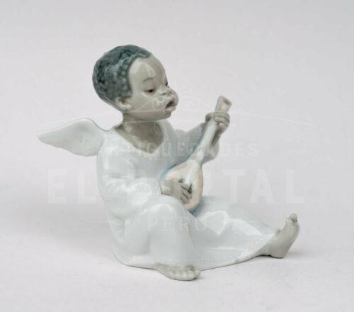 Lladró  figura de porcelana Angelito músico | 3