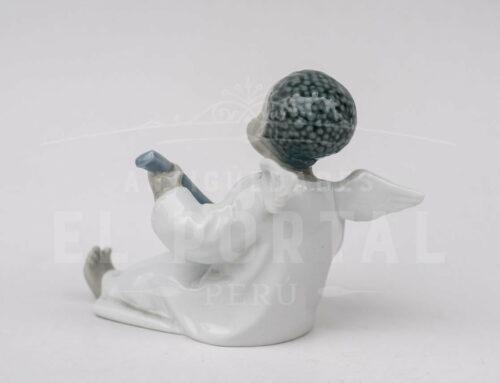 Lladró  figura de porcelana Angelito músico | 2