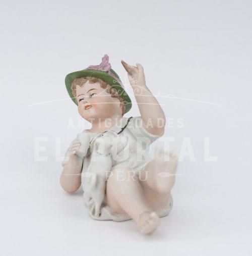 Figura de Niño de Piano de Biscuit | 5
