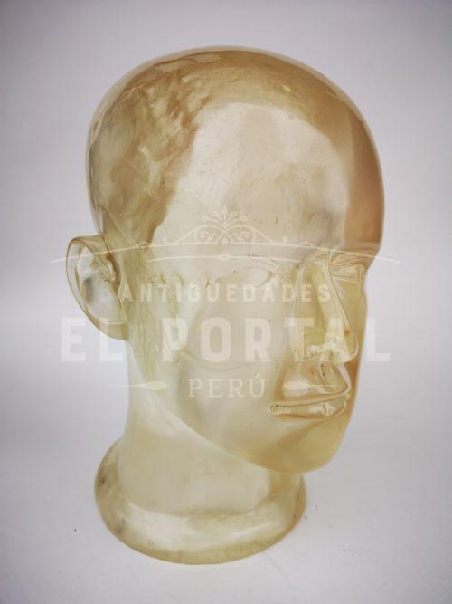Art Déco cabeza de acrílico | 1