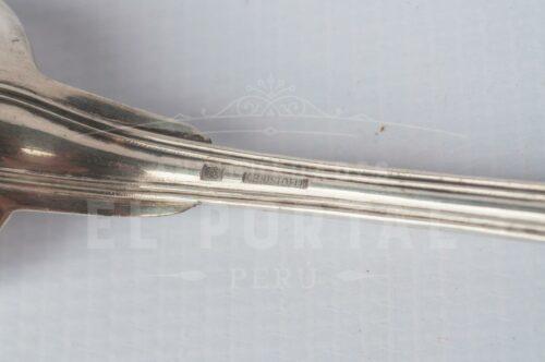 Christofle tenedor y cuchara de plaqué | 3