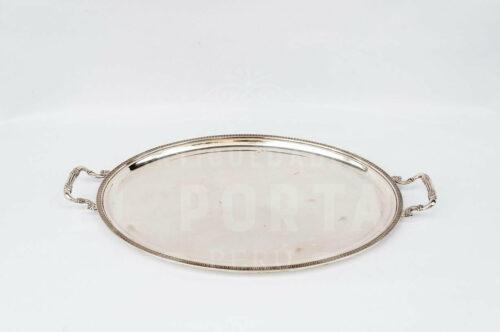 Azafate ovalado de Plata Ley 800 - Italia | 1