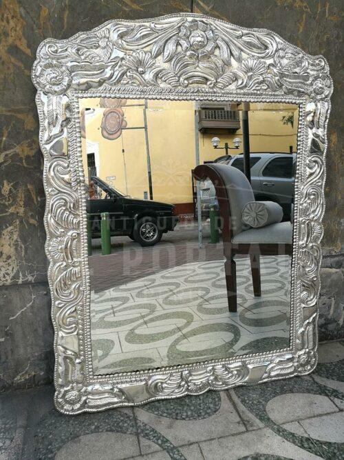 Espejo marco de plaqué - Grande | 1