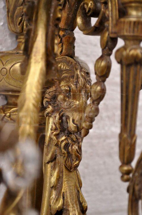 Braquete de bronce estilo Luis XVl   5