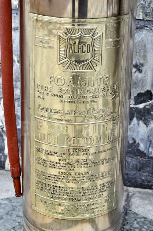 Extintor Extinguidor de bronce Alfco | 4