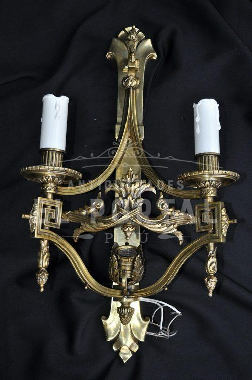 Braquete de bronce estilo Imperio (Par) | 1