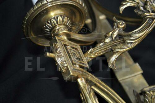 Braquete de bronce estilo Imperio (Par) | 5