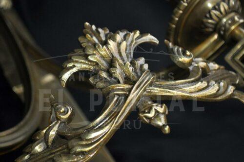 Braquete de bronce estilo Imperio (Par) | 3