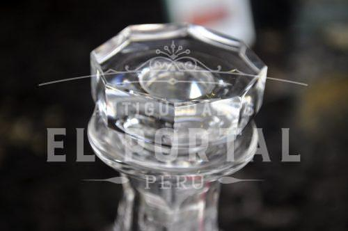 Licorera de Cristal Baccarat  Licores Brandy Whisky Decantador de alcohol | 3