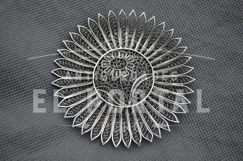 VM 800 adorno de Filigrana de Plata | 1