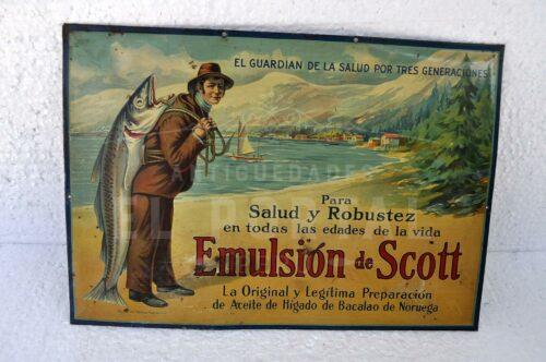 Letrero publicitari Emulsion Scott   1