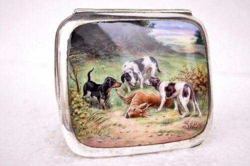 Caja Alpaca esmaltada | 1