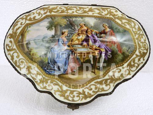 Cofre Porcelana Sevres | 1
