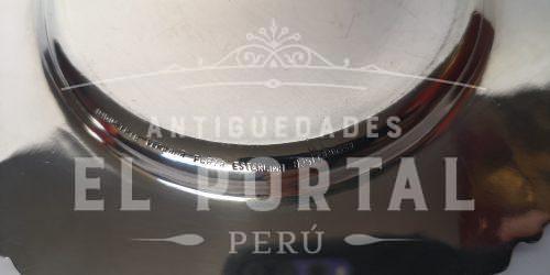Camusso Plata Ley 925  Plato 28 cm | 2