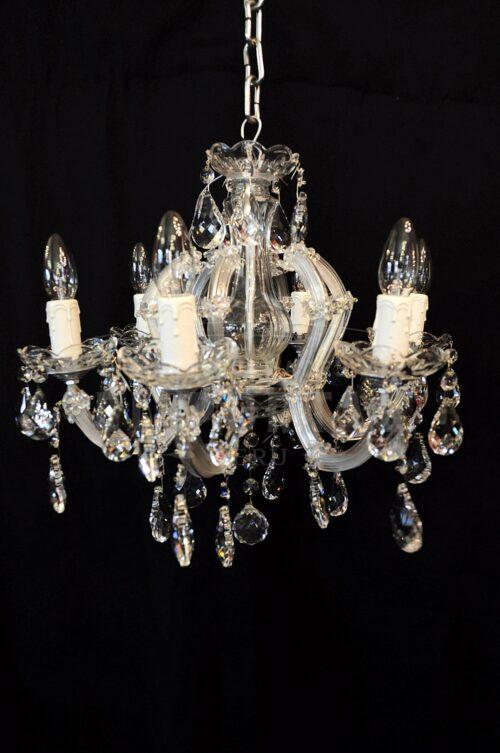 Lámpara de cristal modelo María Teresa 6 luces | 1